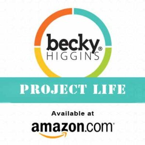 Getting started with project life scrapbooking
